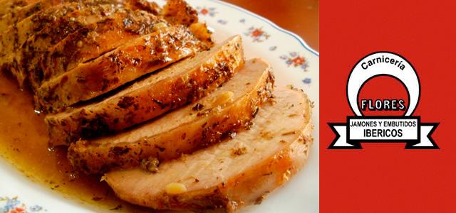Receta Lomo de cerdo al horno con salsa de ciruelas