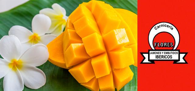 Receta de salmorejo de mango y jam�n